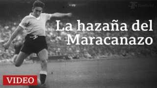 Alcides Ghiggia en el Mundial de fútbol de 1950