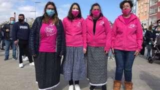 Aktivis perempuan di Spanyol