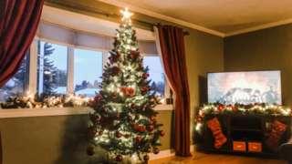 Karen Diaper's Christmas tree