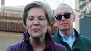 Senator Elizabeth Warren ends her presidential campaign