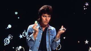 Alvin Stardust on Top of the Pops in the 1970s