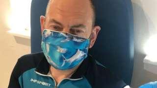 Andy Nightingale, 51, volunteer ambulance service