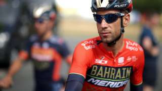 Bahrain Merida rider Vincenzo Nibali