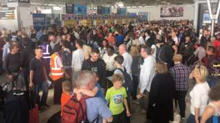 Stansted Airport delays