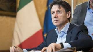 Giuseppe Conte handout pic 1 Sept