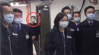 美國人士現身台灣空軍雷達站