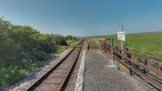 Google street view of Berney Arms station
