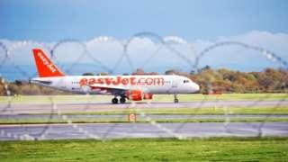 Easyjet at Manc airport