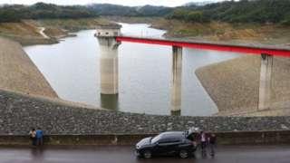 位於新竹縣的寶山第二水庫是台灣千億美元價值半導體產業的兩個主要水源之一。
