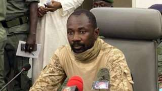 E no dey clear if Col Goïta, wey bin lead military takeover last August, wound