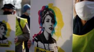 درخواست آزادی یاسمین آریایی و سایر فعالان حقوق زنان در ایران