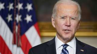 Biden speaks about the climate