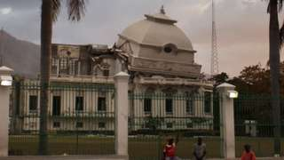 Destroyed National Palace in Port-au-Prince, Haiti. Photo: March 2012