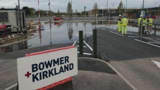 Flooding at Fosse Park