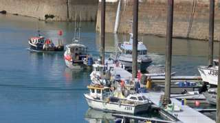 Fishing boats in Jersey