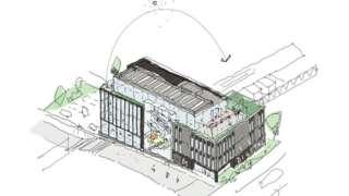 Digital innovation centre plans for Taunton