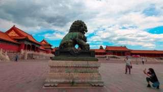 Запретный город в Пекине в мае