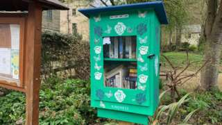 Book box in Cornholme