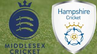 Middlesex v Hampshire