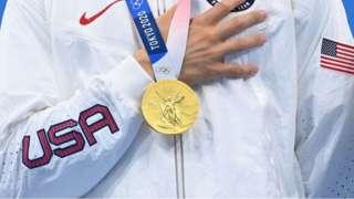 美國獲獎的奧林匹克運動員
