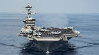 USS Carl Vinson in the South China Sea