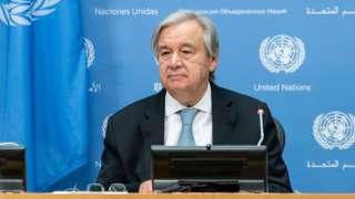 """Tổng thư ký Liên Hợp Quốc, Antonio Guterres, ca ngợi đây là """"đỉnh cao của phong trào toàn thế giới"""""""