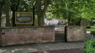 Calderstones School sign