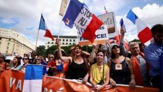 Paris protesto