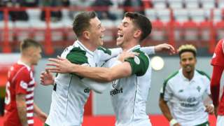 Ryan Christie and Callum McGregor