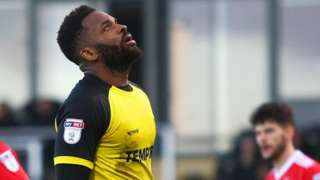 Darren Bent looks disappointed
