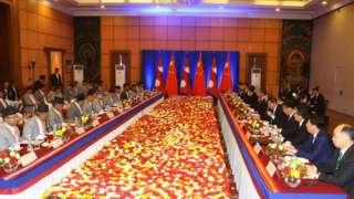 नेपाल-चीन उच्चस्तरीय वार्ता