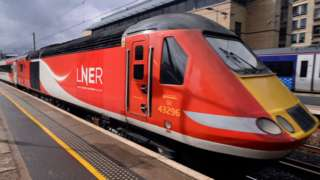 LNER train.