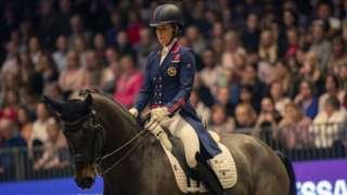 Charlotte Dujardin rides Hawtins Delicato