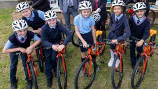 Equality Cycle Project - Minister for Transport.JPG