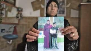 Bereaved Israel Arab mother