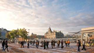Waverley Station artist impression