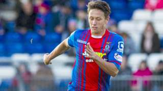 Inverness midfielder Danny Williams