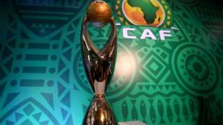 Caf Champions League trophy