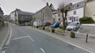 Market Place in Camelford