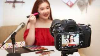 Side hustle: Make-up tutorials