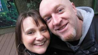 Elaine McIver and Paul Price
