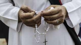 Католическая монахиня в Мьянме