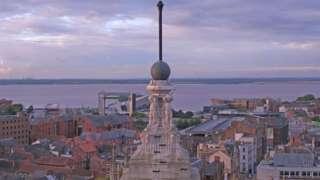 Hull's un-restored time ball