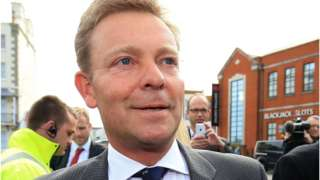 Craig Mackinlay campaigning for next week's general election