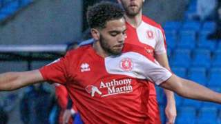 Noah Chesmain playing for Welling