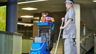 Woman cleaner (file image)