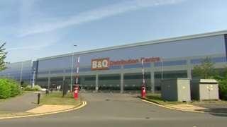 B&Q distribution centre in Swindon