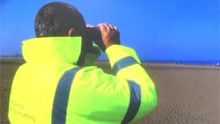 Looking for shellfish gathering