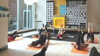 Yoga classes at Umpqua
