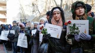 اسامی قربانیان هواپیمای اوکراینی